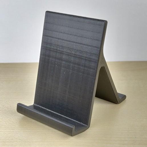 3.jpg Download free STL file Smartphone stand • 3D printing design, IDeMa_3D