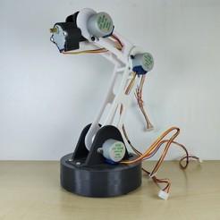 1.jpg Télécharger fichier STL Bras robotique Arduino • Design pour impression 3D, IDeMa_3D
