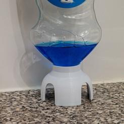 Descargar archivos STL gratis WULBI - Inversor de botellas de líquido de lavado, moXDesigns