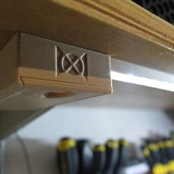 Box LH.JPG Télécharger fichier STL gratuit Barre d'éclairage à bande LED • Objet pour imprimante 3D, moXDesigns