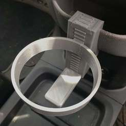 Download free STL file Cup Holder for Nissan NV200, moXDesigns