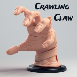 Download free 3D model Crawling Claw, nordcraftgames