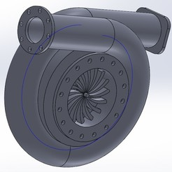 Download STL file TURBINE, 3dPLAnet