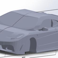 ferrari-f430.png Download STL file Ferrari- f430 • 3D print design, 3dPLAnet