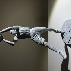Download free STL file Kobe Bryant statue • 3D print object, Totisso