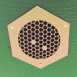 Soffit installed.JPG Télécharger fichier STL Soufflet en nid d'abeille • Objet à imprimer en 3D, MoviePen
