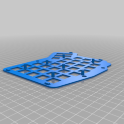 SwitchplateEx2_-_Left.png Download free STL file Ergodash Double Switchplate with extended holes • 3D printable design, lryb