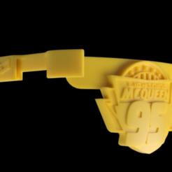 FS-K-Macqueen v1.png Download STL file Face-Shield Lightning McQueen • 3D print object, gaaangulo