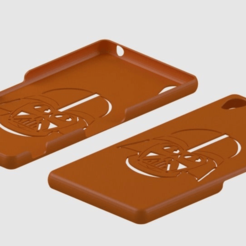 xperia_z3_vader.png Download free STL file Xperia Z3 Vader Case • 3D printing template, ian57