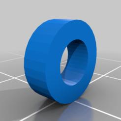 fan80-88mmFanRondelle.png Download free STL file Mini Desk/Wall Fan 80 mm with Ratcheting Angle • 3D printing model, ian57
