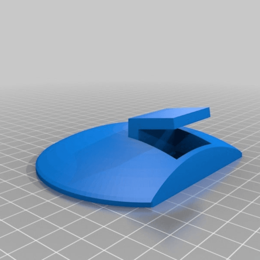 support_enceintev2.png Download free STL file Support for Trust Speaker from a 5.1 Home Theater Kit • 3D printable design, ian57