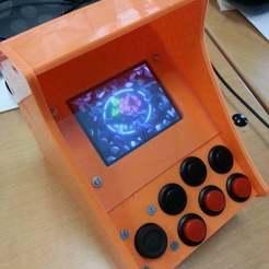 20150708_141619.jpg Télécharger fichier STL gratuit Raspberry Pi 1 Nano Arcade Cabinet imprimable sur Printrbot Simple Metal (15cm x 15cm) • Plan pour impression 3D, ian57