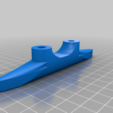 Download free STL file Anchor cleat 125mm (No supports) • Model to 3D print, hari_seldon