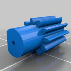 Télécharger fichier imprimante 3D gratuit automower gear Husqvarna AM440, hari_seldon