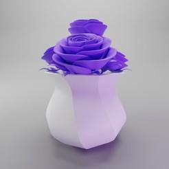 Télécharger fichier imprimante 3D gratuit Vase Pot / Nonagon, dh_str