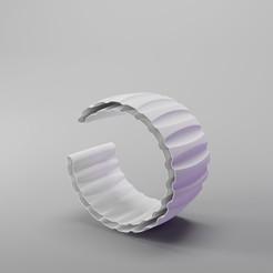 ionic Order bracelet5.jpg Download STL file Ionic Order Bracelet  • Model to 3D print, dh_str