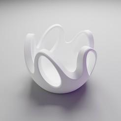 bowl.jpg Télécharger fichier STL Fluidité solide • Objet pour imprimante 3D, dh_str