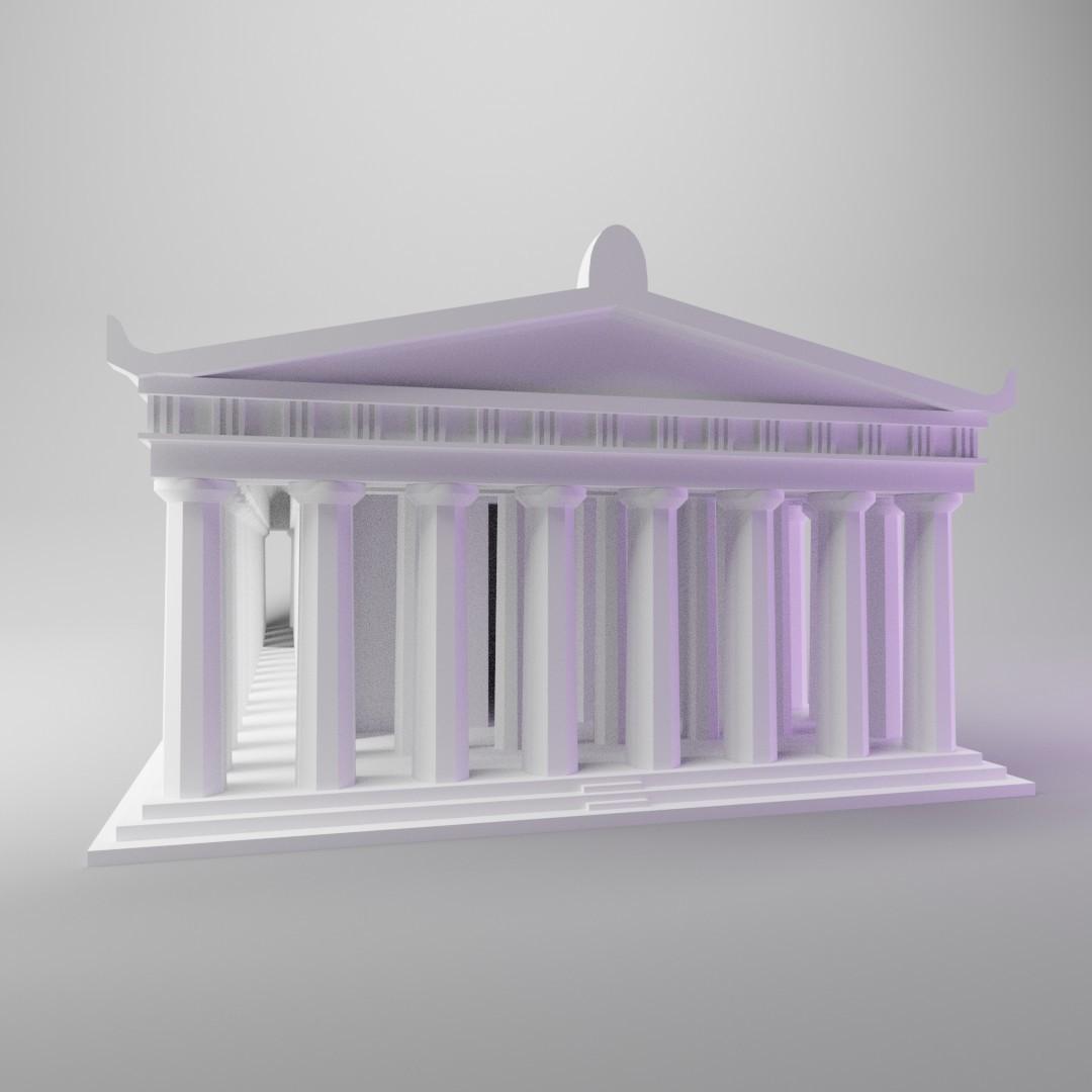 parthenon6.jpg Télécharger fichier STL gratuit Parthénon (mini version simple) • Design pour impression 3D, dh_str