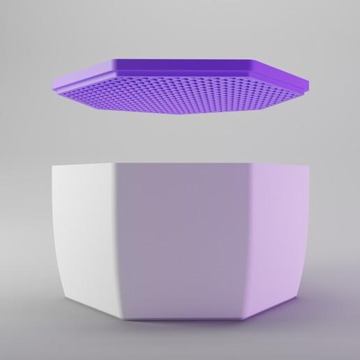 Download 3D printer model Strainer Lid Box , dh_str