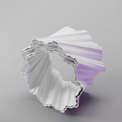 Download 3D printer designs Coral Bracelet (linear), dh_str