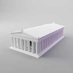 Download free STL file Parthenon (mini simple version), dh_str