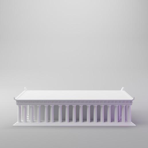 parthenon5.jpg Télécharger fichier STL gratuit Parthénon (mini version simple) • Design pour impression 3D, dh_str
