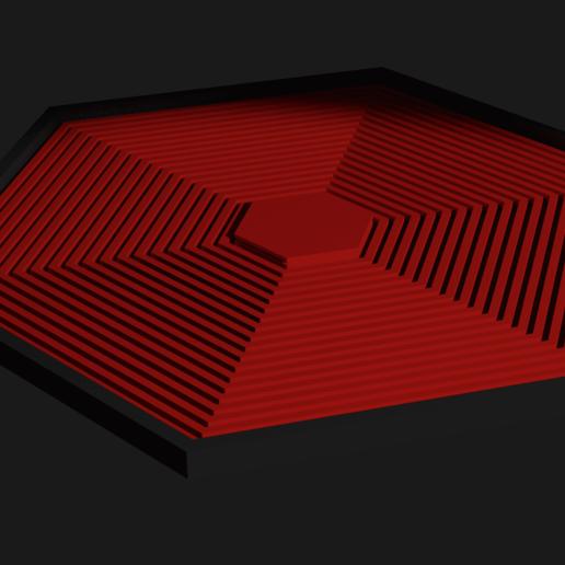Download free STL file HexaDéco • 3D printing template, J0nxthxn3D_