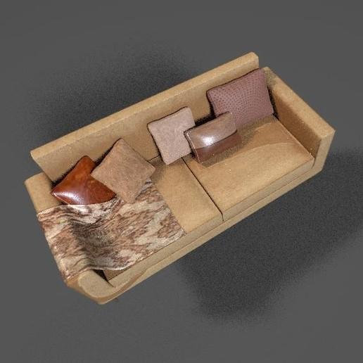 8.JPG Download STL file CAPRI SOFA • 3D printer object, irfanbukhari3377