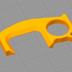 01.PNG Download STL file door opener • 3D printing object, bypiero14