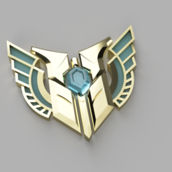 Maestry_Emote_2019-Dec-21_04-24-16PM-000_CustomizedView1099448703_png.png Download STL file M7 Champion Mastery - League of Legends • Object to 3D print, marcusalm3ida