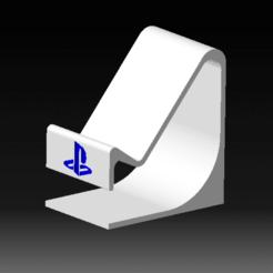 khkhkh.png Télécharger fichier STL Stand PS5 DualSense - Support manette DualSense • Modèle imprimable en 3D, DRE-3D-FREPS-DESIGN