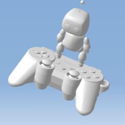 1.png Télécharger fichier STL ASTRO BOT  FIGURINE ROBOT SONY PLAYSTATION 5 • Modèle à imprimer en 3D, 3DFREPSDESIGN