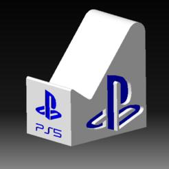 AAAAAA.png Télécharger fichier STL Stand PS5 DualSense - Support manette DualSense • Modèle imprimable en 3D, DRE-3D-FREPS-DESIGN