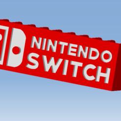 AAAAAA.png Télécharger fichier STL NINTENDO SWITCH Game cases storage - Support rangement Jeux vidéo • Design pour impression 3D, 3DFREPSDESIGN