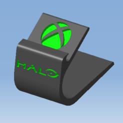 AAAAA.png Télécharger fichier STL Stand XBOX design HALO - Support manette XBOX HALO design • Modèle pour impression 3D, DRE-3D-FREPS-DESIGN