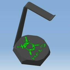 IOPIPPU.jpg Télécharger fichier STL Support casque audio XBOX HALO - Audio headset support XBOX HALO • Design pour imprimante 3D, DRE-3D-FREPS-DESIGN
