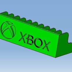 XBOX.jpg Download STL file XBOX Game cases storage • Object to 3D print, 3DFREPSDESIGN