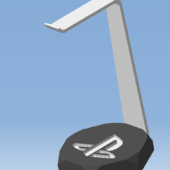 AAA.png Télécharger fichier STL Support casque audio LOGO SONY PLAYSTATION  - headset support • Plan à imprimer en 3D, DRE-3D-FREPS-DESIGN