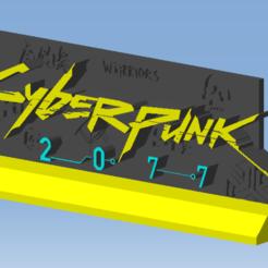 AAAAAAAAAAAAAAAAAAAAAAAA.png Télécharger fichier STL CYBERPUNK 2077 • Modèle à imprimer en 3D, DRE-3D-FREPS-DESIGN