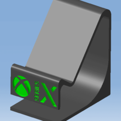 1.png Télécharger fichier STL Stand XBOX SERIES X - Support manette XBOX SERIES X • Plan imprimable en 3D, 3DFREPSDESIGN