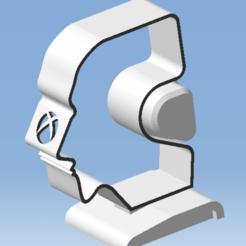 4.png Télécharger fichier STL XBOX  SERIES S Support casque audio - Audio headset support XBOX SERIES S • Plan pour imprimante 3D, 3DFREPSDESIGN