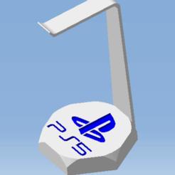 AAA.png Télécharger fichier STL Support casque audio PS5 - Playstation - PS5 audio headset support • Modèle pour impression 3D, DRE-3D-FREPS-DESIGN