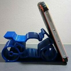 1.jpg Download STL file Mobile phone holder - phone holder • 3D printing object, DRE-3D-FREPS-DESIGN