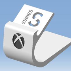 1.png Télécharger fichier STL Stand XBOX SERIES S - Support manette XBOX SERIES S • Modèle pour impression 3D, DRE-3D-FREPS-DESIGN