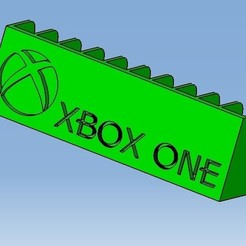 XBOX. ONE.jpg Télécharger fichier STL XBOX ONE Game cases storage • Modèle pour imprimante 3D, 3DFREPSDESIGN