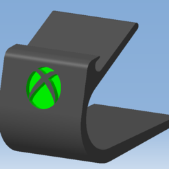 1.png Télécharger fichier STL Stand XBOX SERIES X - Support manette XBOX SERIES X • Plan imprimable en 3D, DRE-3D-FREPS-DESIGN