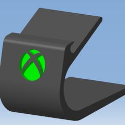 1.png Télécharger fichier STL Stand XBOX SERIES X - Support manette XBOX SERIES X • Plan imprimable en 3D, 3DFREPSDESIGN