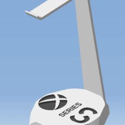 AAA.png Télécharger fichier STL Support casque audio XBOX  SERIES S - Audio headset support XBOX SERIES S • Plan pour imprimante 3D, DRE-3D-FREPS-DESIGN