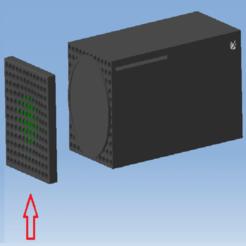 AAAAAAAAAA.png Télécharger fichier STL XBOX SERIES X - Cache de finition grille latérale gauche / XBOX SERIES X Left cover • Plan pour impression 3D, DRE-3D-FREPS-DESIGN