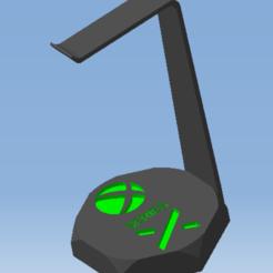 AAA.png Télécharger fichier STL Support casque audio XBOX  SERIES X - Audio headset support XBOX SERIES X • Modèle à imprimer en 3D, DRE-3D-FREPS-DESIGN